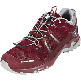 Mammut T Aegility Low GTX Shoes Women merlot-neutral grey
